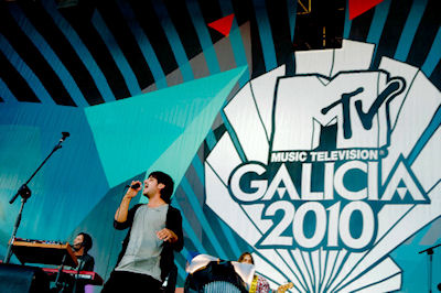 Cocerto de MTV co Xacobeo 2010